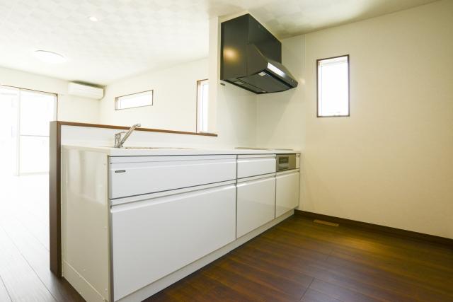 台所のレンジフード分解洗浄